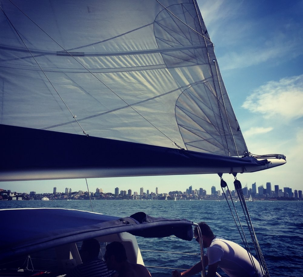 Learn to Sail on Sydney Harbour Sailing Lessons with ...